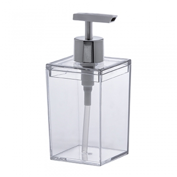 Porta Sabonete Líquido Lavabo Banheiro Quadratta Paramount