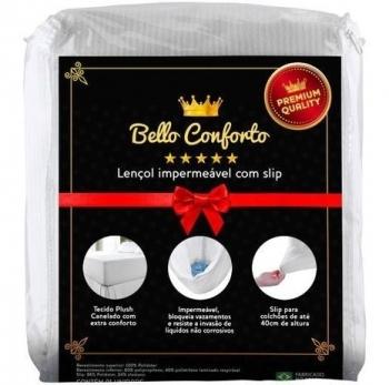 Protetor De Colchão Lençol Impermeável Queen Bello Conforto