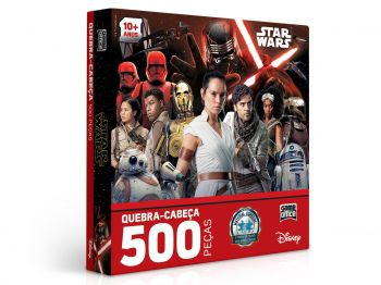 Puzzle Quebra-Cabeças 500 Peças Star Wars Ix - Ascensão Skywalker - Toyster
