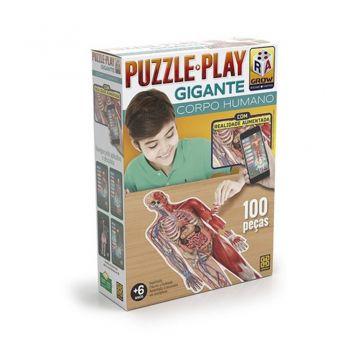 Puzzle Play Gigante Corpo Humano Grow