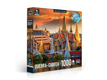 Puzzle Quebra Cabeça 1000 Peças - Palácio De Bangkok Toyster