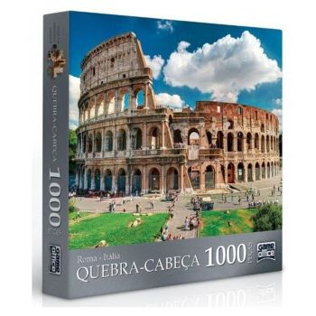 Puzzle Quebra-cabeça 1000 Peças - Roma Toyster