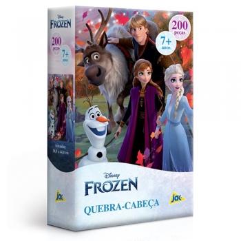 Quebra Cabeça 200 Pçs Disney Frozen Toyster Puzzle - 2869