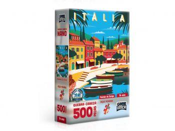 Puzzle Quebra-cabeça 500 Peças Cartões Postais Da Europa: Italia Toyster