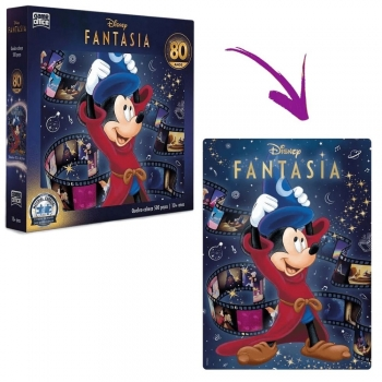 Quebra-Cabeça 500 Peças Disney Fantasia 80 Anos -Toyster