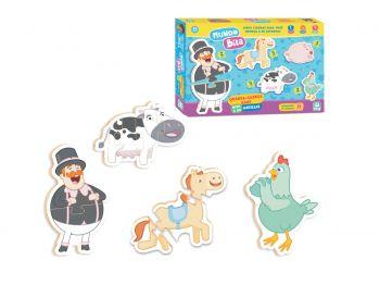 Puzzle Quebra Cabeça Baby Bita E Os Animais Nig Brinquedos