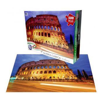 Quebra Cabeça Coliseu 500 Pc 4 Anos - Pais & Filhos 7265 Sj