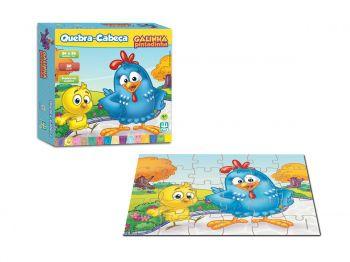 Puzzle Quebra Cabeça Educativo Galinha Pintadinha Nig Brinquedos