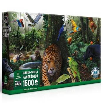Quebra Cabeça Game Office Floresta Amazônica 1500 Peças
