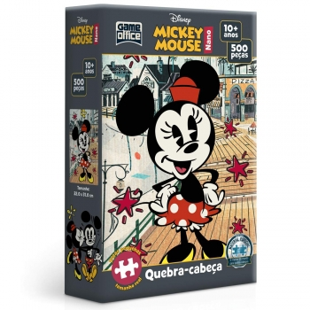 Quebra-Cabeça Game Office Minnie Mouse Nano  500 Peças