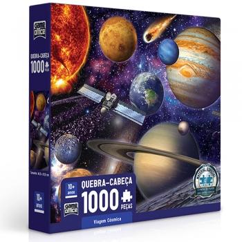 Quebra-cabeça Game Office Viagem Cósmica 1000 Peças