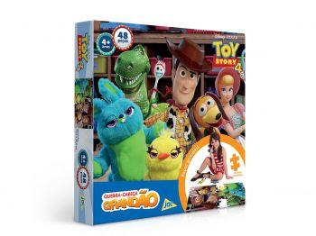 Puzzle Quebra-cabeça Grandão - 48 Peças - Disney - Toy Story 4 - Toyster