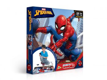 Puzzle Quebra Cabeça Grandão Homem Aranha 120 Peças Toyster