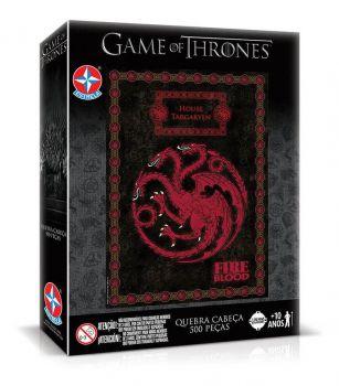 Quebra-cabeça House Targaryen 500 Peças Game Of Thrones