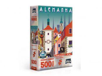 Puzzle Quebra-cabeça Postais Da Europa - Alemanha 500 Peças Nano Toyster
