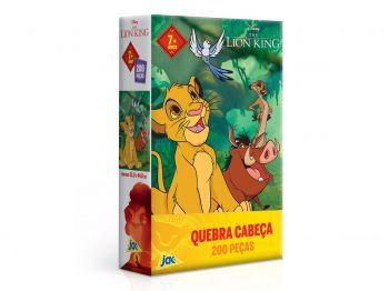 Puzzle Quebra-cabeça Rei Leão 200 Pçs - Toyster 2623 Toyster
