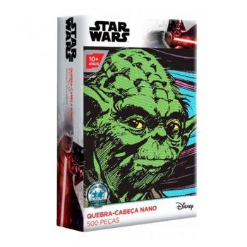 Puzzle Quebra-cabeça Star Wars - 500 Peças Nano Yoda Toyster