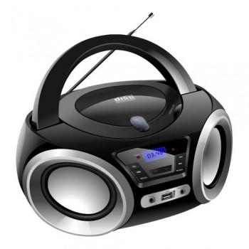 Rádio Portátil Lenoxx Bd1370_pp 5w Bluetooth Mp3 Fm