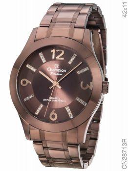 Relógio Champion Analógico Feminino Marrom - CN28713R