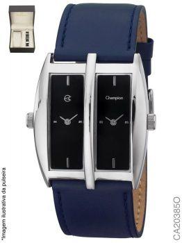 Relógio Champion Analógico Social CA20385O Pulseira Couro