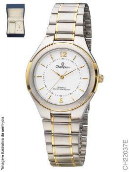 Relógio Champion CH22037E + Conjunto de Brincos e Colar