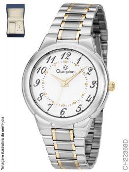 Relógio Champion CH22368D + Conjunto de Brincos e Colar