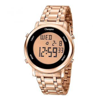 Relógio Champion Digital Ch40213z Feminino Rosé