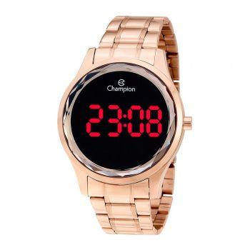 Relógio Champion Digital Feminino Ch48019p Rosé