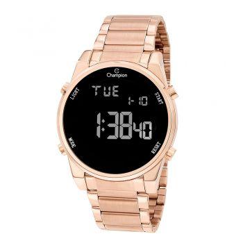 Relógio Champion Digital Feminino LCD CH40071P Rosé