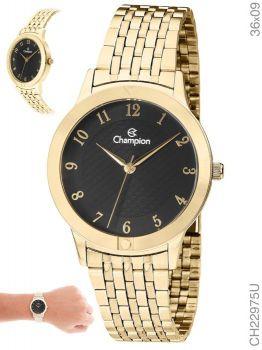 Relógio Champion Dourado Feminino Ch22975u