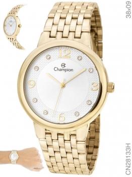 Relógio Champion Dourado Feminino CN28133H