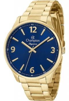 Relógio Champion Elegance CN26206A Prova D'Agua Original Ouro