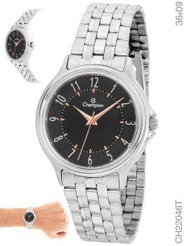 Relógio Champion Feminino CH22046T Prateado