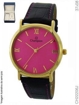 Relógio Champion Feminino Ch22206j + Kit Semijóia