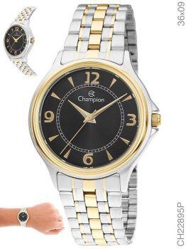 Relógio Champion Feminino CH22895P Aço Misto