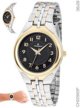 Relógio Champion Feminino Ch22993p Misto Dourado e Prata
