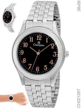 Relógio Champion Feminino Clássico CH22126T Prateado