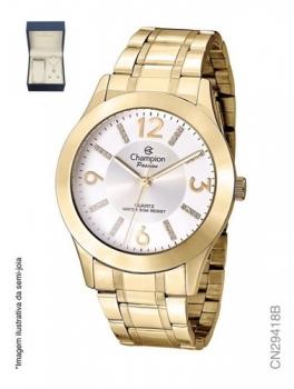 Relógio Champion Feminino CN29418B Dourado