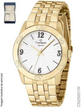 Relógio Champion Feminino + Conjunto Semi Joia CN25001W