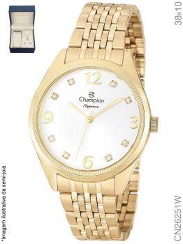 Relógio Champion Feminino + Conjunto Semi Joia CN26251W