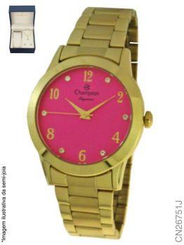 Relógio Champion Feminino + Conjunto Semi Joia CN26751J