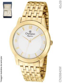 Relógio Champion Feminino + Conjunto Semi Joia CN26840W