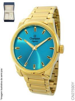 Relógio Champion Feminino + Conjunto Semi Joia CN27590Y