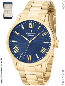 Relógio Champion Feminino + Conjunto Semi Joia CN27796K