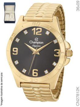 Relógio Champion Feminino + Conjunto Semi Joia CN27812K