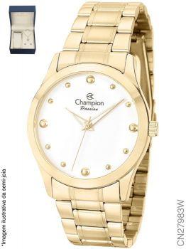 Relógio Champion Feminino + Conjunto Semi Joia CN27983W