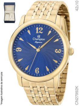 Relógio Champion Feminino + Conjunto Semi Joia CN27992K