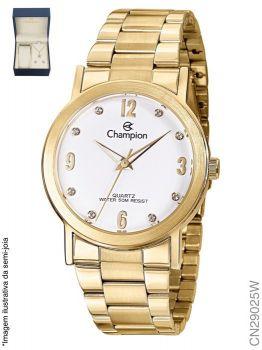 Relógio Champion Feminino + Conjunto Semi Joia CN29025W
