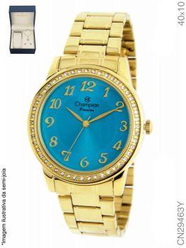 Relógio Champion Feminino + Conjunto Semi Joia CN29463Y