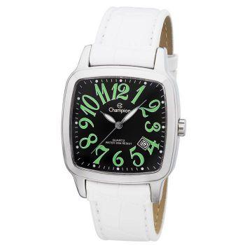 Relógio Champion Feminino Visor Preto e Verde CH25614G